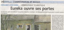 Eurêka le gite, dans la presse