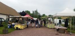 Marché de producteurs à Jouy-sur-Eure