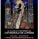 Rouen, cathédrale de lumière