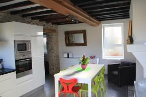 La cuisine & la salle à manger