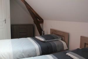 La chambre double - 2ième espace